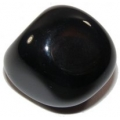 Black Agate tumble stone