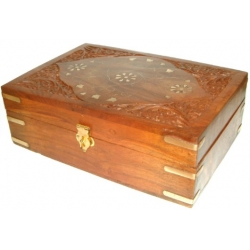 Aromatherapy Carved Box 225 x 155 mm