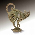 edge sculpture by Robert Harrop - Ginger Cat